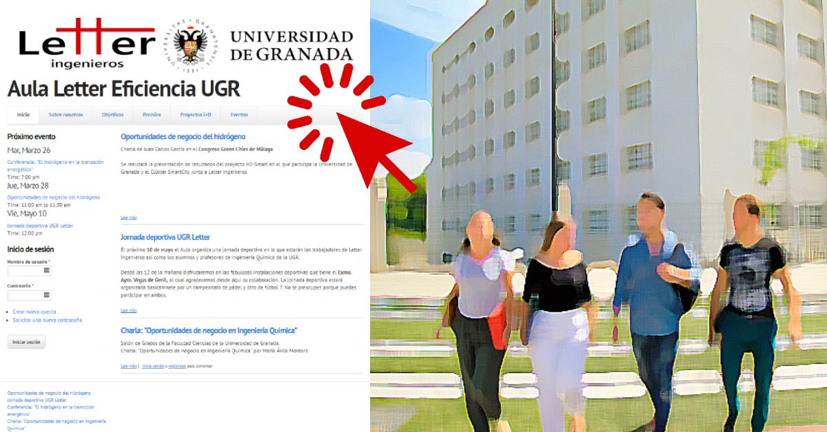El Aula Letter UGR abre nueva página web