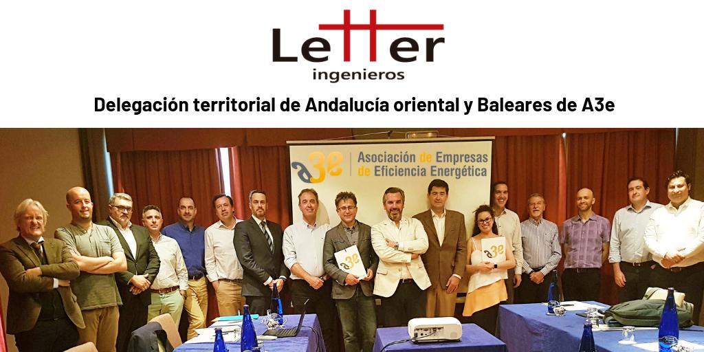 Letter Ingenieros - Delegacion A3e