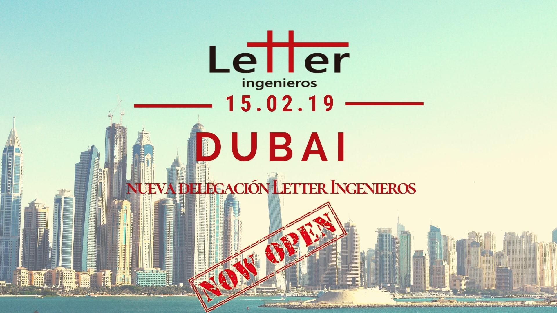 Oficina Dubai Letter Ingenieros
